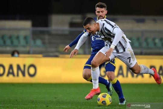 Juventus gagal bawa pulang tiga poin dari kandang Verona