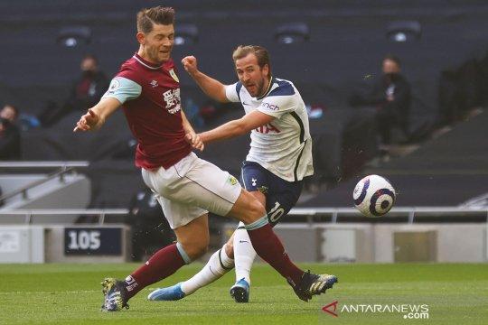 Liga Inggris : Tottenham Hotspur unggul 3-0 atas Burnley pada babak pertama