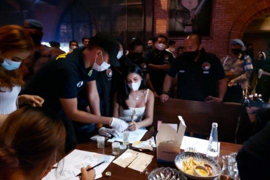 Millen Cyrus terjaring razia prokes Polda Metro Jaya