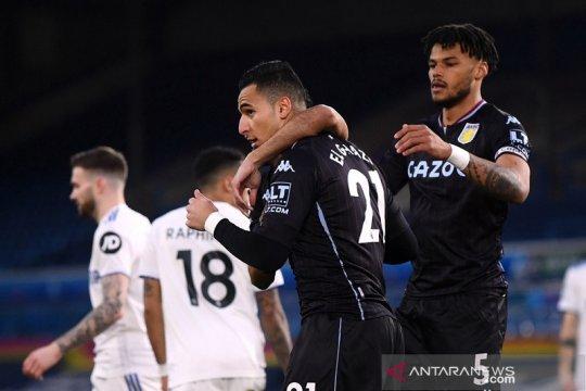 Villa boyong tiga poin penuh dari markas Leeds
