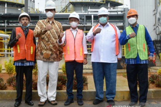 Bahlil: 50 persen kebutuhan aspal nasional diharapkan dari Buton