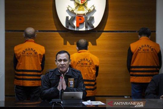 Gubernur Sulsel Nurdin Abdullah diduga terima Rp5,4 miliar