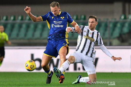 Liga Italia: Hellas Verona tahan Juventus 1-1