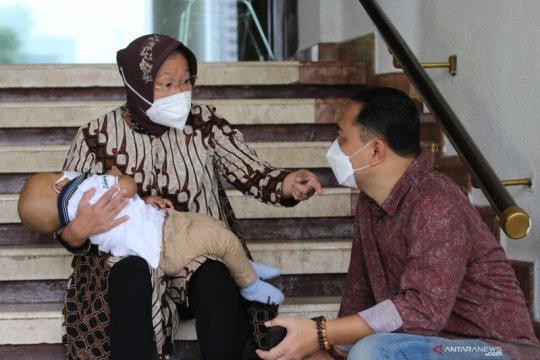 Menteri Sosial di Surabaya