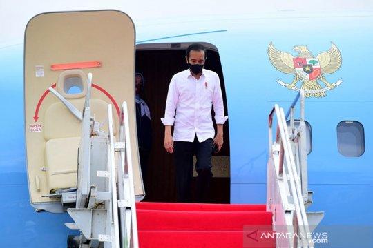 Kemarin, Jokowi ke Yogyakarta hingga PDI-P belum ganti Nurdin Abdullah