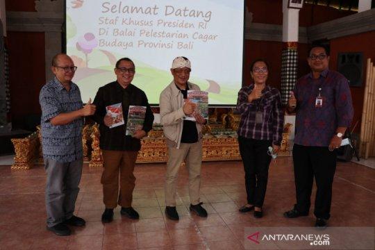 "Ari Dwipayana dukung Bali jadi ""benchmarking"" pengelolaan cagar budaya"