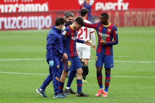 Barcelona konfirmasi cedera Pedri