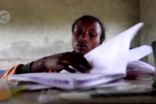 Sekolah baru tumbuhkan asa para ibu muda di Kenya