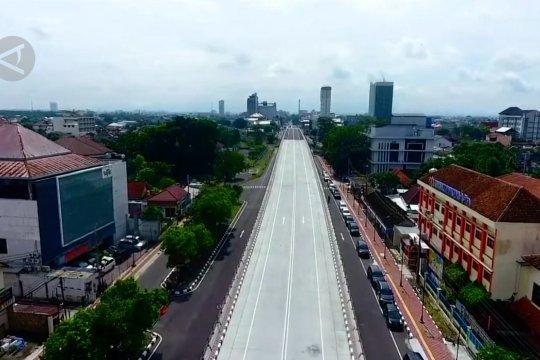 Pemerintah resmikan jembatan layang Purwosari Solo
