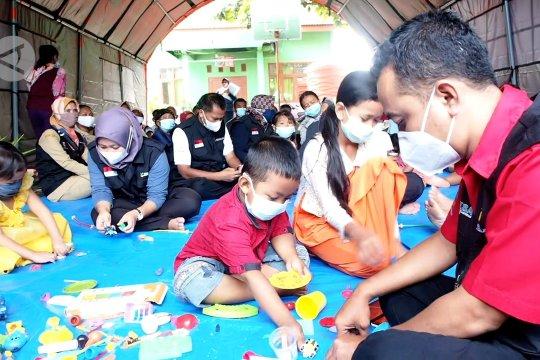 Pemulihan trauma pascabencana bagi anak-anak korban longsor