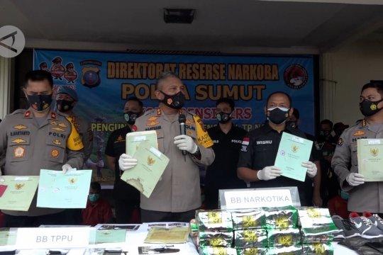 Polda Sumut sita aset bernilai miliaran rupiah dari bandar narkoba