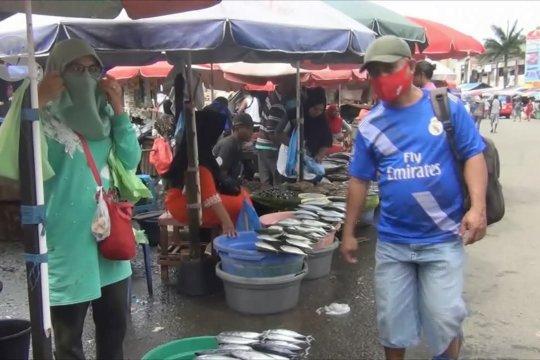 PSBB transisi diperpanjang, Pemkot Ambon intens operasi yustisi di pasar
