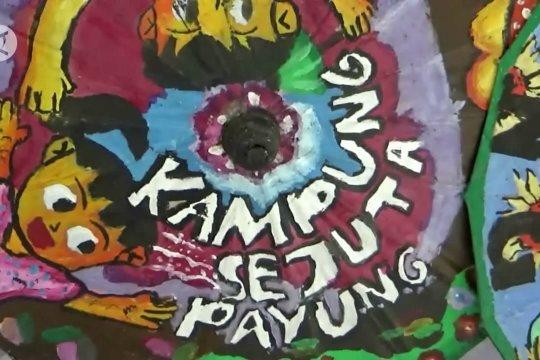 Apresiasi untuk maestro payung, Malang kini punya Pasar Payung