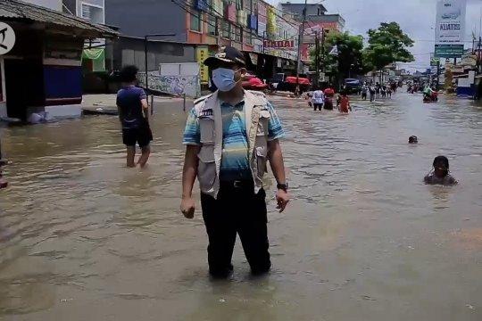 Banjir Ciledug Indah mulai surut, Pemkot Tangerang dorong normalisasi sungai