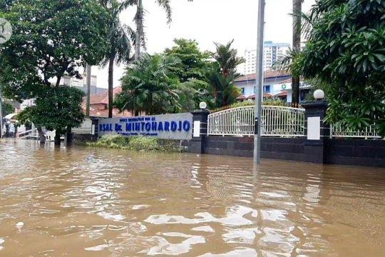 Banjir rendam Benhil sedalam 1 meter