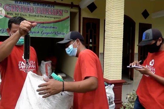 Bank sampah jadi sumber penghasilan tambahan di masa pandemi