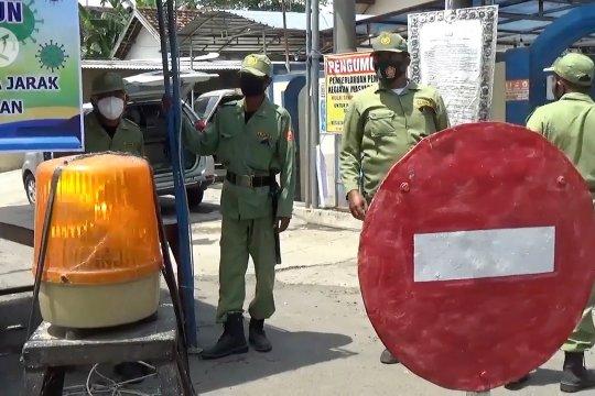 Batasi mobilitas warga selama PPKM, Madiun terapkan sistem satu pintu