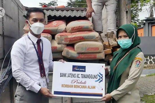 BPBD Temanggung salurkan bantuan material untuk korban bencana