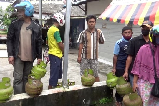 Distribusi terganggu banjir, Pemkot Banjarmasin gelar operasi pasar elpiji