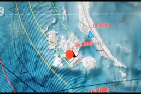 Gempa bermagnitudo 5,2 guncang Kabupaten Halmahera Selatan