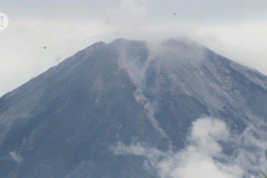 Kubah lava terus tumbuh, potensi bahaya Gunung Semeru cukup tinggi