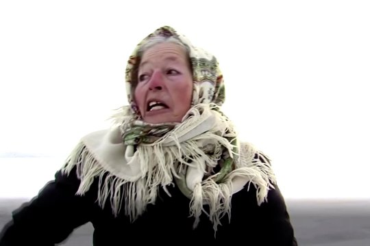 Lyubov, peseluncur es Rusia berusia 79 tahun