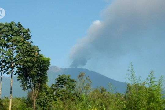 Masyarakat Banyuwangi diimbau waspadai bahaya abu vulkanik Gunung Raung