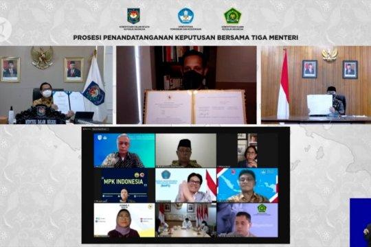 Pemerintah terbitkan SKB 3 Menteri perihal seragam dan atribut sekolah