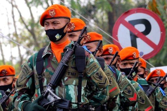 Gelar pasukan operasi gaktib dan yustisi POM TNI 2021