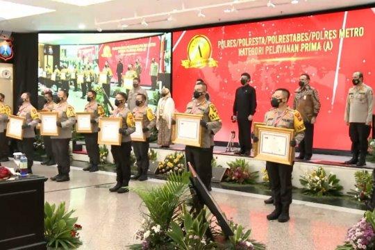 Kemenpan-RB beri penghargaan pelayanan prima kepada 12 Polres