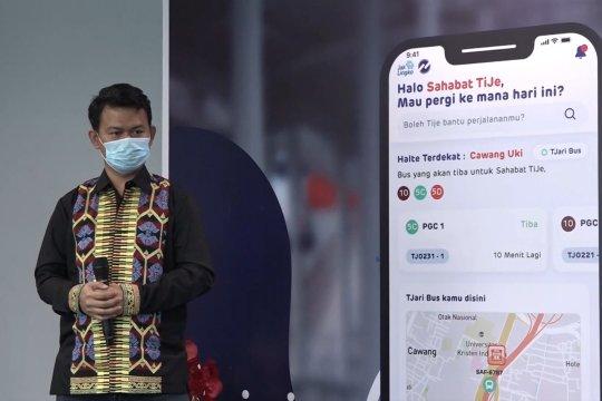 PT Trans Jakarta luncurkan aplikasi Tije dengan 6 fitur terbaru