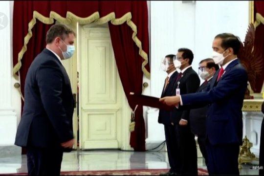 Presiden Jokowi terima 7 surat kepercayaan dubes negara sahabat