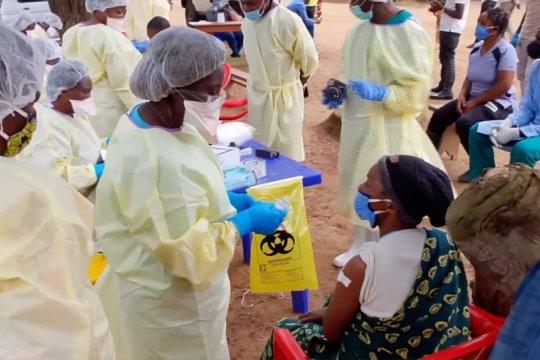 Kampanye vaksinasi Ebola dimulai di Kongo