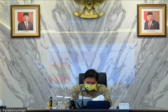 Menko Airlangga: Sinyal positif, pemulihan ekonomi hasil intervensi pemerintah