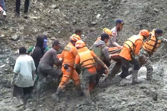 Longsor tambang ilegal di Parigi Moutong, 6 meninggal dunia