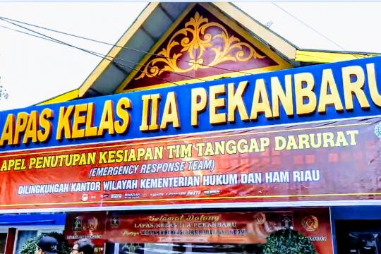 Lapas Pekanbaru punya blok pengendali narkoba yang jadi percontohan
