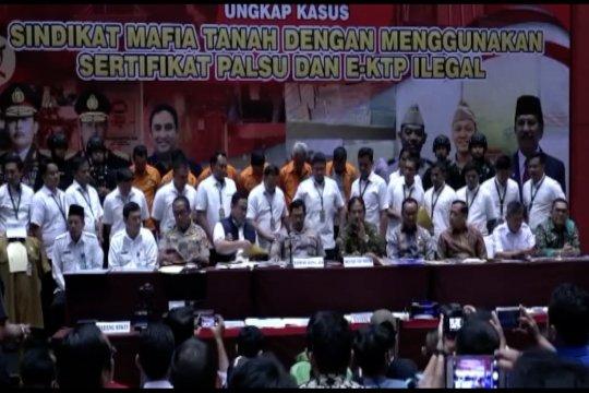 Upaya pemerintah berantas mafia tanah