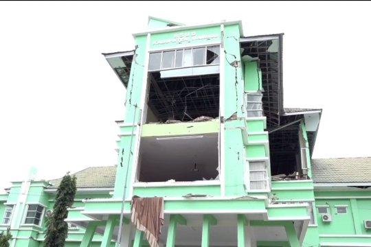 Konstruksi bangunan pasca gempa Sulbar perlu diperhitungkan detail sesuai SNI