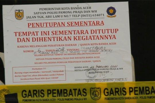 Langgar syariat, hotel di Banda Aceh disegel