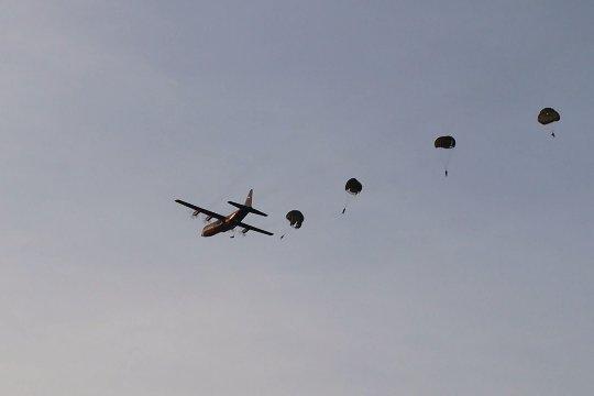 Yonko 465 Paskhas Brajamusti terjunkan pasukan elite untuk operasi darurat