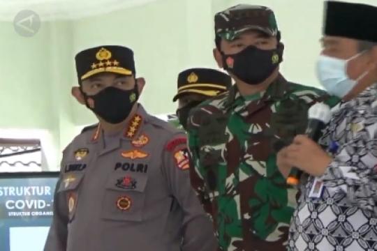 Tinjau Sleman, Panglima TNI dan Kapolri nilai PPKM berhasil