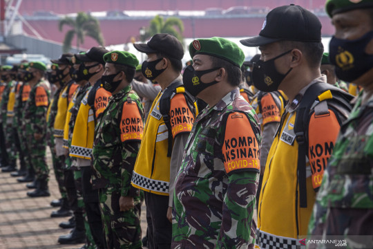 "Pengamat: Pengerahan 63 ribu prajurit ""tracer"" tunjukkan keseriusan"