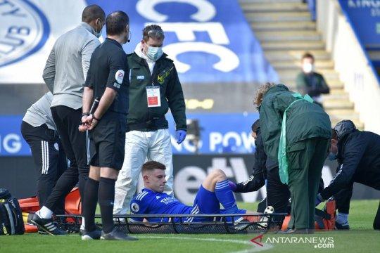 Leicester kehilangan Harvey Barnes setidaknya enam pekan