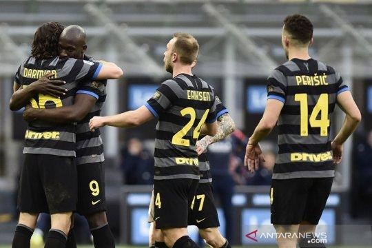 Klasemen Liga Italia: Inter kian kuat mencengkeram di puncak