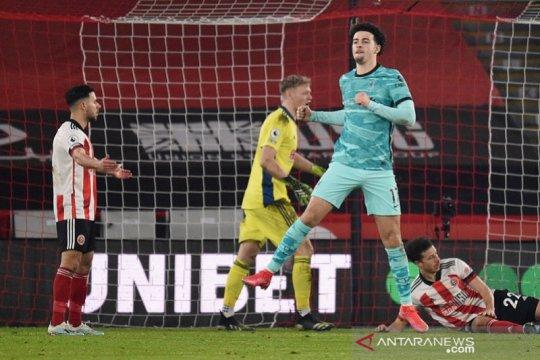 Liverpool akhirnya menang lagi setelah tundukkan juru kunci Sheffield