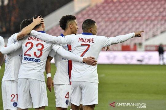Klasemen Liga Prancis: PSG tempel ketat Lille dengan jarak dua poin