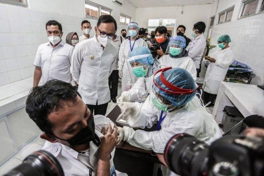 Pemkot Bogor jadwalkan vaksinasi COVID-19 tahap kedua pada Maret-April