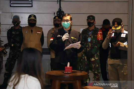 Ratusan penghuni Yayasan Bhakti Luhur Kota Malang positif swab antigen