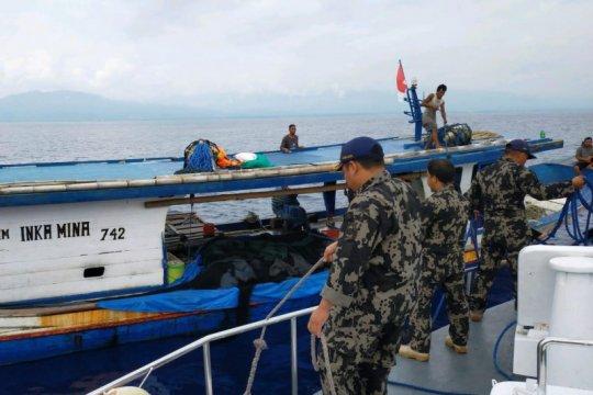 KKP tangkap 3 kapal ikan tanpa izin di Teluk Tolo Sulteng