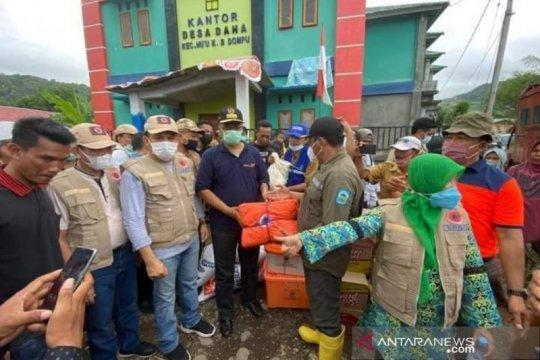 Gubernur NTB tinjau korban banjir Dompu